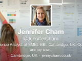 Survey talk – guest blog by Dr Jenny Cham